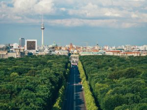 A view of Berlin
