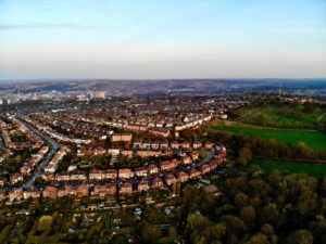 A view of Sheffield