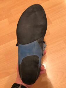 Scarpa Instinct VSR sole